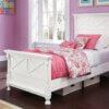 B502_ASH_Kaslyn_Twin_Bed_White