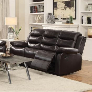 Rodman Living Room Collection Chocolate All American