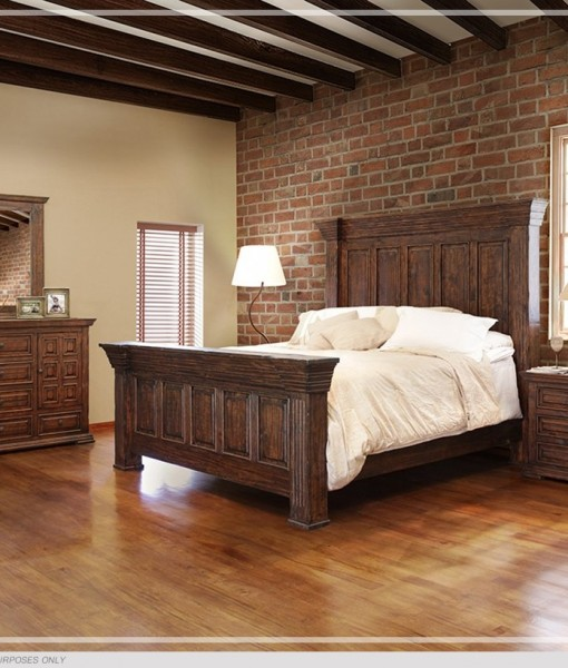 Terra Bedroom Set All American Furniture Buy 4 Less Open To Public