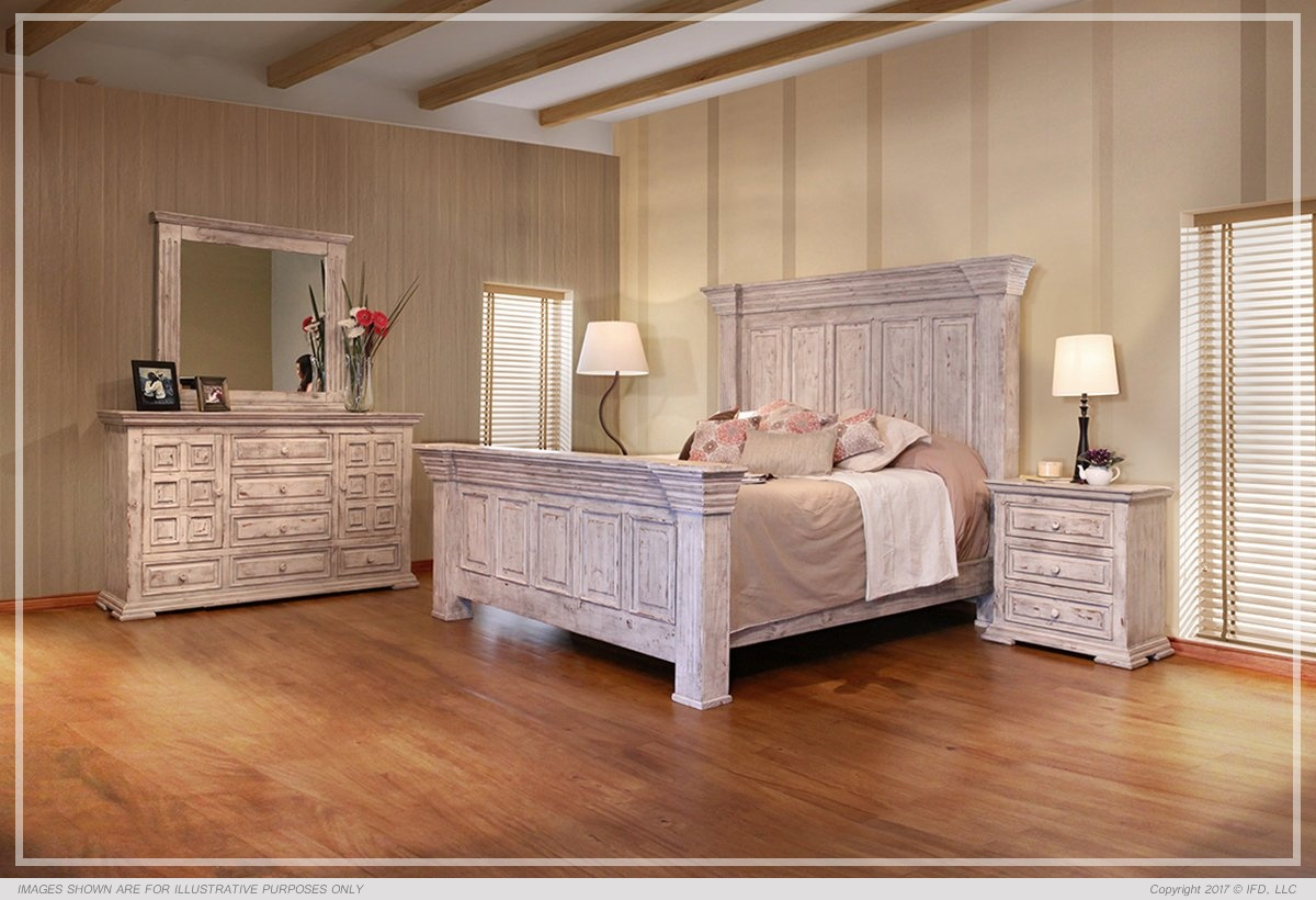 Terra white bedroom set all american furniture buy 4 for All white bedroom furniture