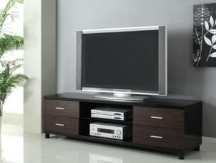 Coaster_Contemporary_TV_Console_Black