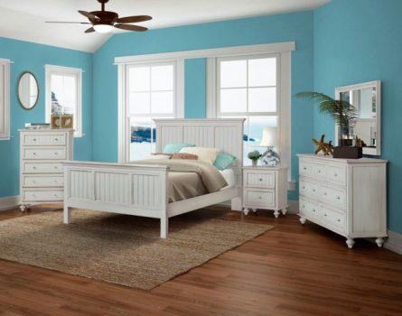 Monaco Blanc Bedroom Collection