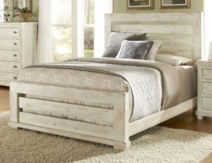 Willow_Distressed_White_Slat_Bed
