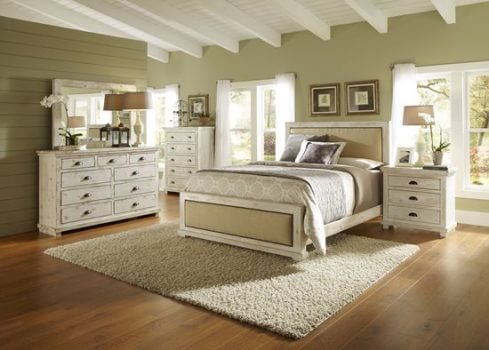 Willow Distressed White Bedroom All American Furniture Buy 4