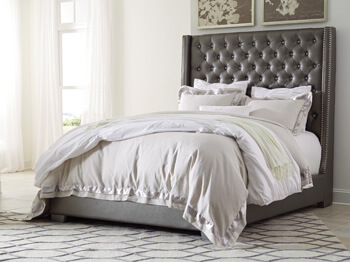 Coralayne_Queen_Bed_Grey
