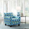 9470421 Ayanna Nuvella Accent Chair