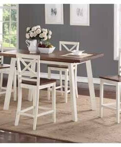 Amelia Dining Counter Height Set All American Furniture Buy 4 Less Open To Public