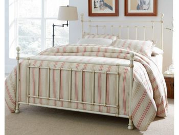 Bennington White Metal Bed All American Furniture Buy
