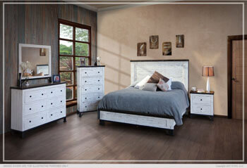 Antique White Bedroom Collection