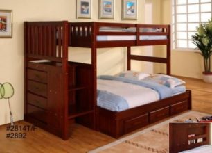 Twin Full Staircase Bunk