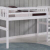 3018 White Bunk Bed Option 3