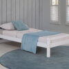 3018 White Twin Bed FB Option