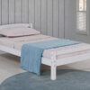 3018 White Twin Bed HB.FB Option