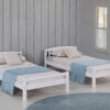 3018 White Twin Bed Option 1