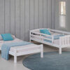 3018 White Twin Bed Option 3