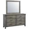 96550_96559_96558 Nelson Grey Dresser & Mirror