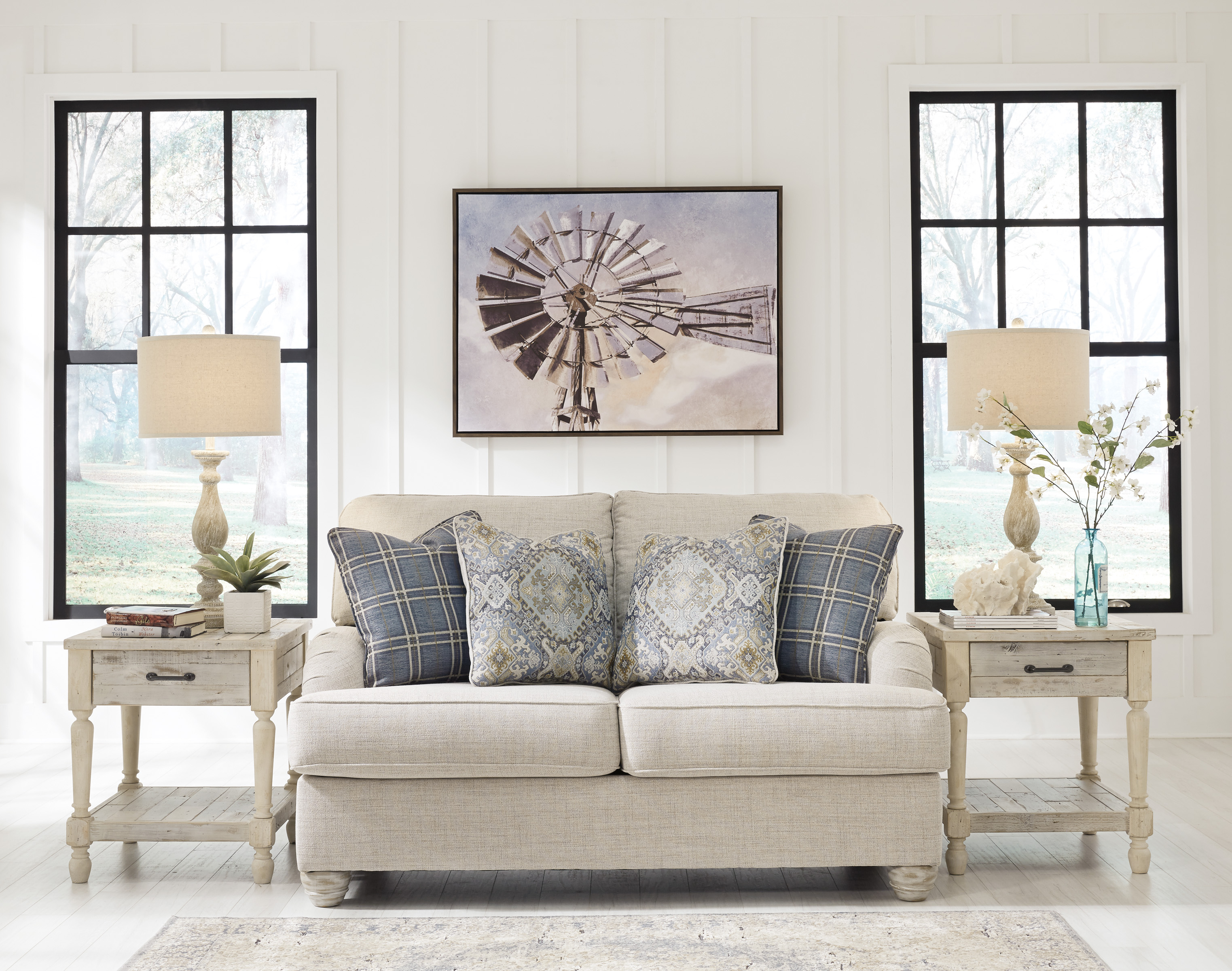 Traemore Living Room All American Furniture Buy 4 Less