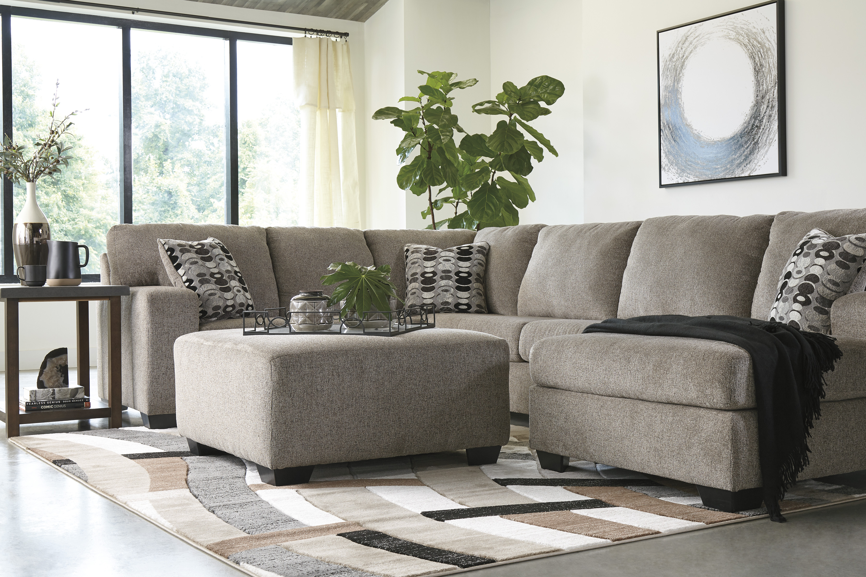 Ballinasloe Platinum Living Room All American Furniture