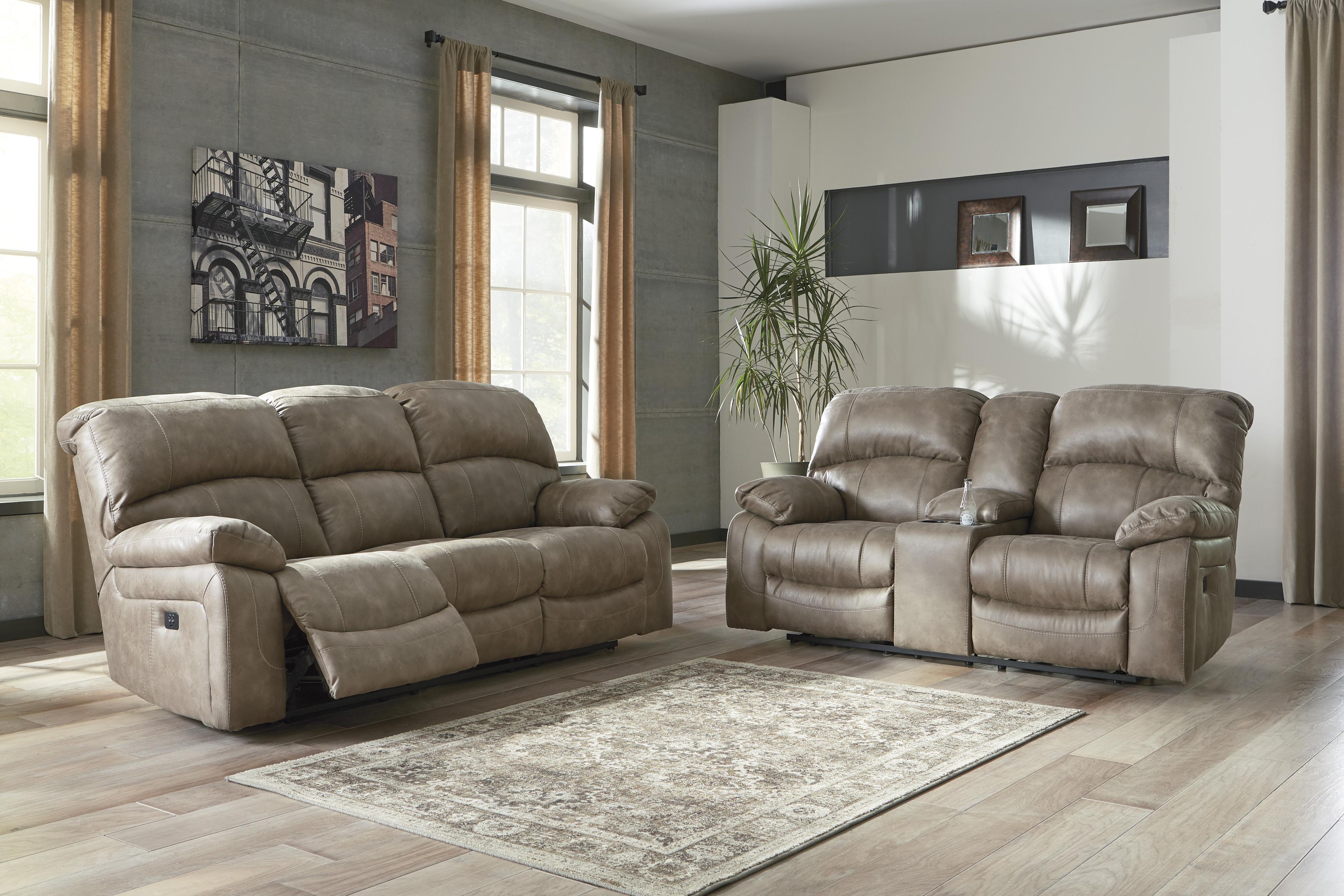 Dunwell Driftwood Power Reclining All American Furniture