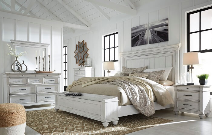 Kanwyn Bedroom Set All American Furniture Buy 4 Less Open To Public