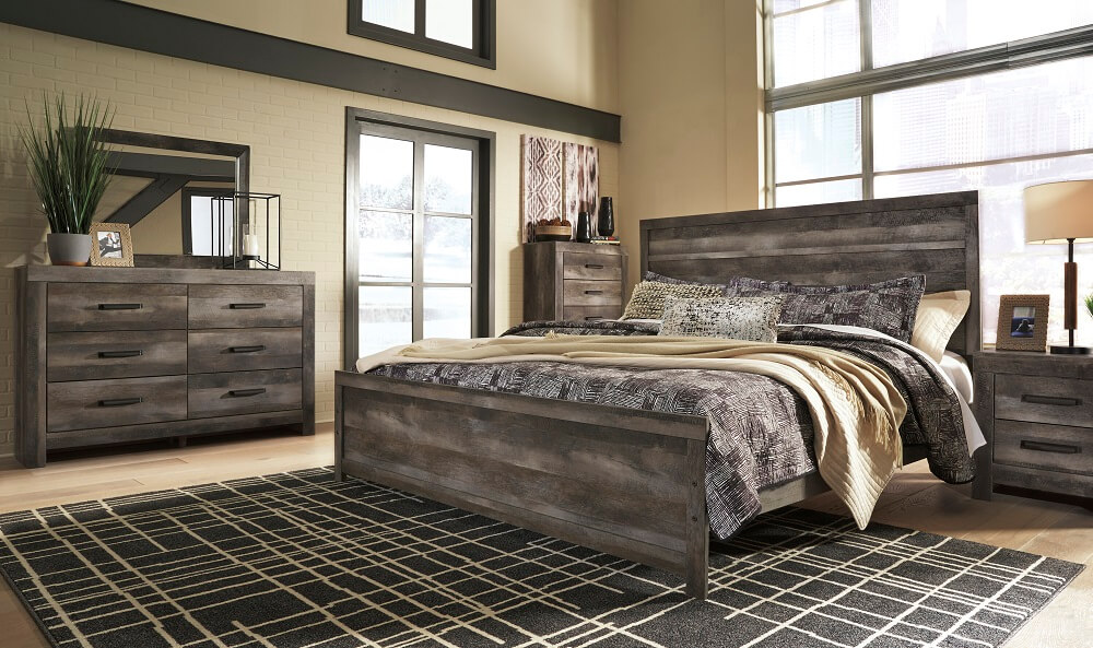 Wynnlow Bedroom Set All American Furniture Buy 4 Less Open To Public