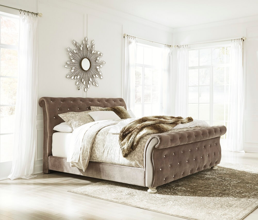 All American Furniture And Mattress Inc Lakeland Fl: Cassimore King Upholstered Bed