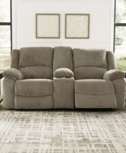 Draycoll Pewter Reclining Living Room Set All American